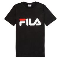 textil Niños camisetas manga corta Fila FREDERIK Negro