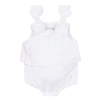 textil Niña Monos / Petos Lili Gaufrette NOLENI Blanco
