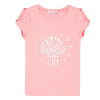 textil Niña camisetas manga corta Lili Gaufrette KATIA Blush