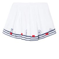 textil Niña Faldas Lili Gaufrette BELINDA Blanco