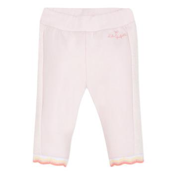 textil Niña Pantalones con 5 bolsillos Lili Gaufrette DIM. Rosa