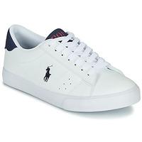 Zapatos Niños Zapatillas bajas Polo Ralph Lauren THERON Blanco