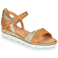 Zapatos Mujer Sandalias Karston KILGUM Marrón / Plata