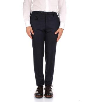 textil Hombre Pantalón de traje Incotex 1AT091 1721T azul