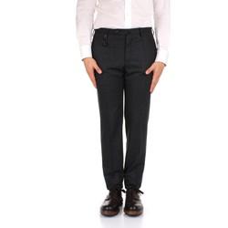 textil Hombre Pantalón de traje Incotex 1AT091 1721T gris