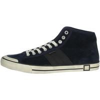 Zapatos Hombre Zapatillas altas Date E20-126 Azul