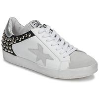 Zapatos Mujer Zapatillas bajas Meline GELLABELLE Blanco / Negro