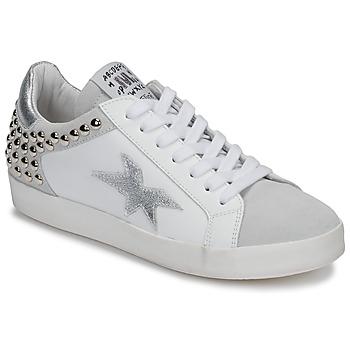 Zapatos Mujer Zapatillas bajas Meline GELLABELLE Blanco