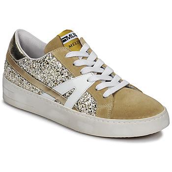 Zapatos Mujer Zapatillas bajas Meline GERIE Oro