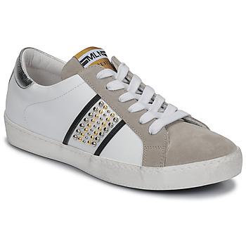 Zapatos Mujer Zapatillas bajas Meline GARILOU Blanco / Beige