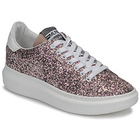Zapatos Mujer Zapatillas bajas Meline GEYSI Glitter / Rosa