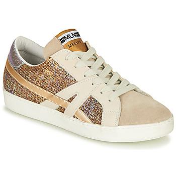 Zapatos Mujer Zapatillas bajas Meline GALLI Oro