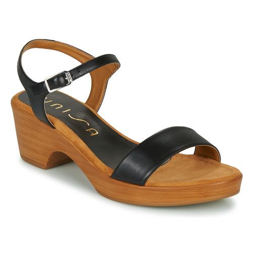 Zapatos Mujer Sandalias Unisa IRITA Negro