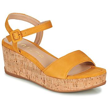 Zapatos Mujer Sandalias Unisa KOME Amarillo