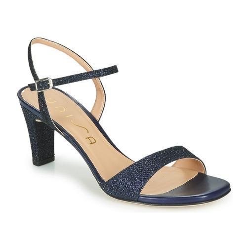 Zapatos Mujer Sandalias Unisa MABRE Marino