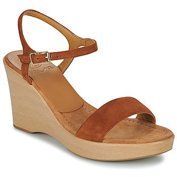 Zapatos Mujer Sandalias Unisa RITA Marrón