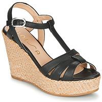 Zapatos Mujer Sandalias Unisa MACA Negro