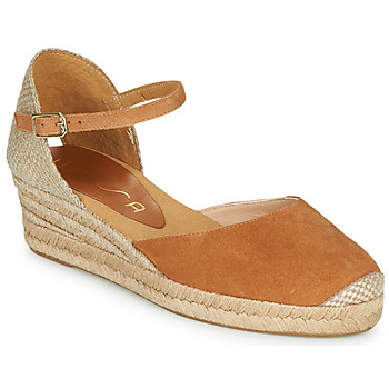 Zapatos Mujer Sandalias Unisa CISCA Camel