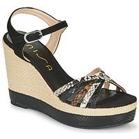 Zapatos Mujer Sandalias Unisa MIRELLA Negro