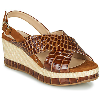 Zapatos Mujer Sandalias Unisa KASTRO Camel