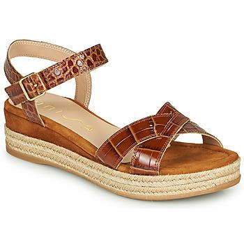 Zapatos Mujer Sandalias Unisa GRANADA Camel