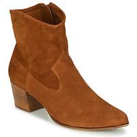 Zapatos Mujer Botines Unisa GALVEZ Camel