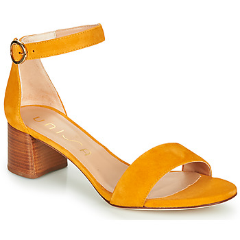 Zapatos Mujer Sandalias Unisa GELETE Amarillo