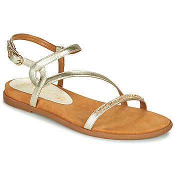 Zapatos Mujer Sandalias Unisa CLARIS Oro