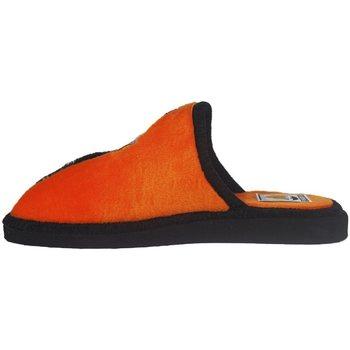 Zapatos Mujer Pantuflas Andinas Zapatillas Valencia C.F. Naranja