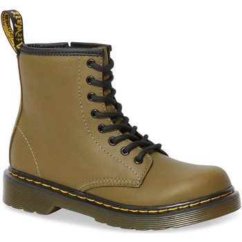 Zapatos Mujer Botas urbanas Dr Martens 1460 J Dms Olive Romario Smoother Finish Groen