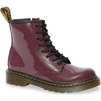 Zapatos Mujer Botas urbanas Dr Martens 1460 Patent J Plum Patent Lamper Rood