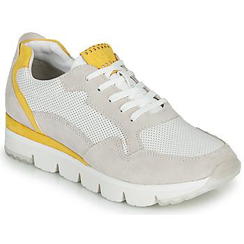 Zapatos Mujer Zapatillas bajas Marco Tozzi 2-23754 Blanco / Amarillo