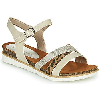 Zapatos Mujer Sandalias Marco Tozzi 2-28410 Beige