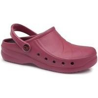 Zapatos Zuecos (Clogs) Calzamedi SANITARIO EXTRA ANATOMICO 2020 BURDEOS