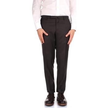 textil Hombre Pantalón de traje Incotex 1AT030 1010T marrón