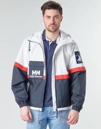 textil Hombre cazadoras Helly Hansen RAIN Blanco / Marino