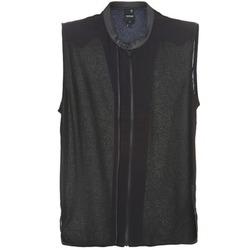 textil Mujer Tops / Blusas G-Star Raw 5620 CUSTOM Negro