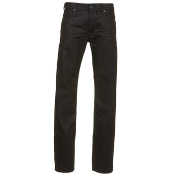 textil Hombre Vaqueros rectos G-Star Raw ATTAC STRAIGHT Negro