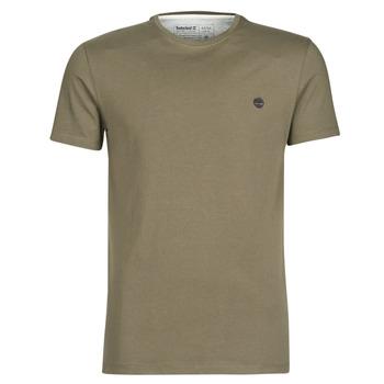 textil Hombre Camisetas manga corta Timberland SS DUNSTAN RIVER CREW TEE Kaki