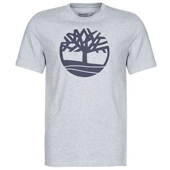 textil Hombre camisetas manga corta Timberland SS KENNEBEC RIVER BRAND TREE TEE Gris