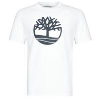textil Hombre camisetas manga corta Timberland SS KENNEBEC RIVER BRAND TREE TEE Blanco