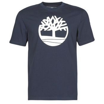 textil Hombre camisetas manga corta Timberland SS KENNEBEC RIVER BRAND TREE TEE Marino