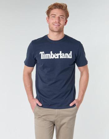 Timberland SS KENNEBEC RIVER BRAND LINEAR TEE