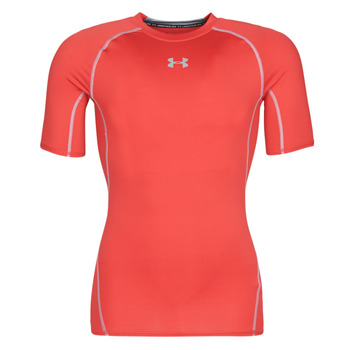textil Hombre camisetas manga corta Under Armour UA HEATGEAR ARMOUR Rojo
