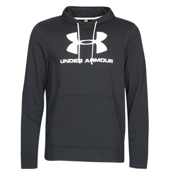 textil Hombre sudaderas Under Armour SPORTSTYLE TERRY LOGO HOODIE Negro