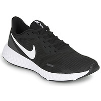 Zapatos Hombre Running / trail Nike REVOLUTION 5 Negro / Blanco