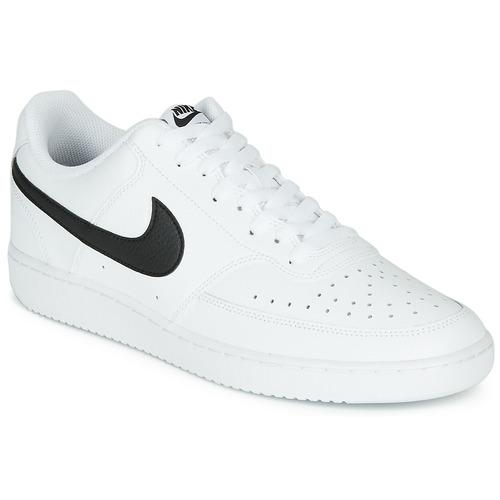 Zapatos Hombre Zapatillas bajas Nike COURT VISION LOW Blanco / Negro