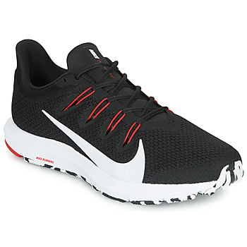 Zapatos Hombre Running / trail Nike QUEST 2 Negro / Blanco