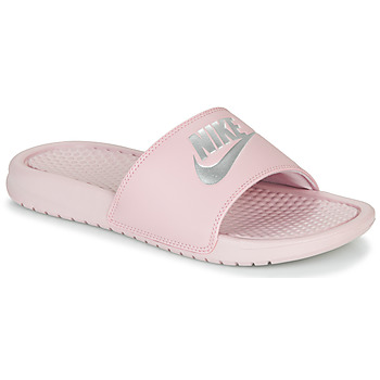 Zapatos Mujer Chanclas Nike BENASSI JUST DO IT Violeta