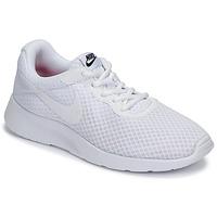 Zapatos Mujer Zapatillas bajas Nike TANJUN Blanco